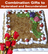 Cakes Flowers Sweets to Hyderabad