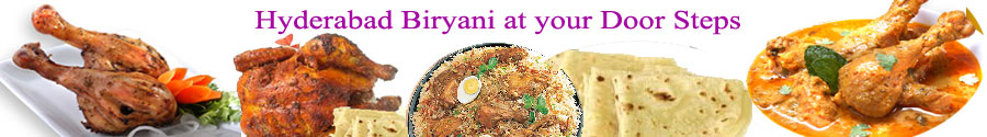 Hyderabad Biryani at your door step