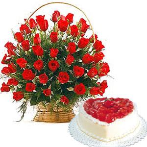 Send Cakes To Hyderabad Flowers